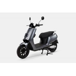 LVENG LX05 Electric Moped Grey Front Left.jpg