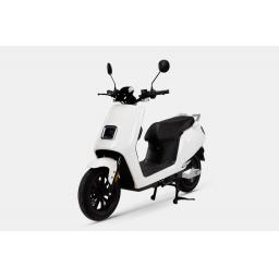 LVENG LX05 Electric Moped White Front Left.jpg