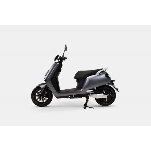 LVENG LX05 Electric Moped Grey Left.jpg