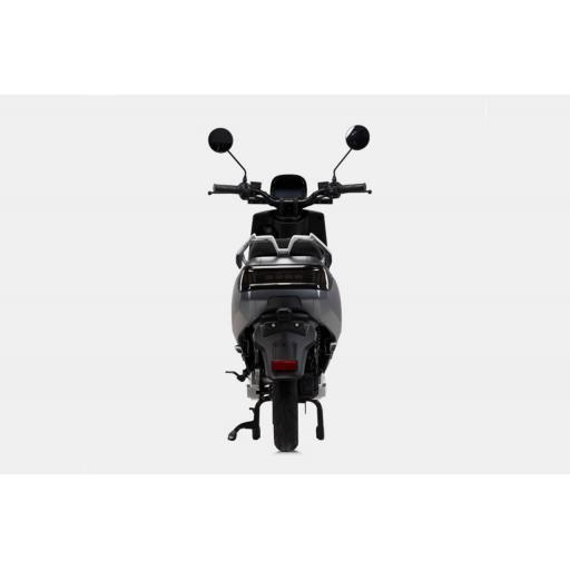 LVENG LX05 Electric Moped Grey Rear.jpg