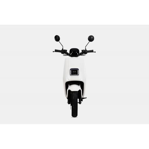 LVENG LX05 Electric Moped White Front.jpg