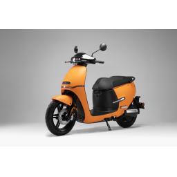 Horwin EK1 Electric Moped Orange Front Left.jpg