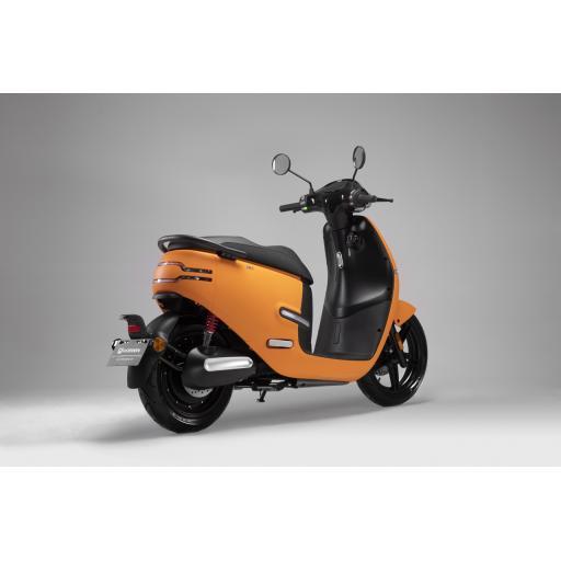 Horwin EK1 Electric Moped Orange Rear Right.jpg