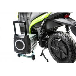 Silence S01 Electric Motorcycle Green Rear Left with Battery.jpg