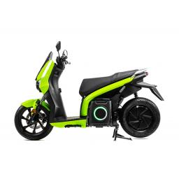 Silence S01 Electric Motorcycle Green Left Side.jpg