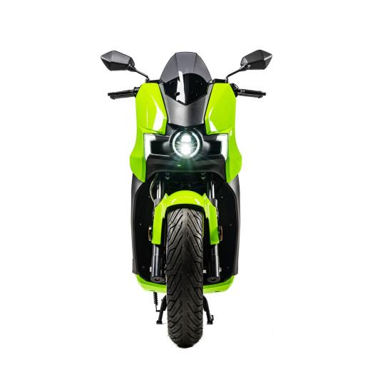 Silence S01 Electric Motorcycle Green Front.jpg