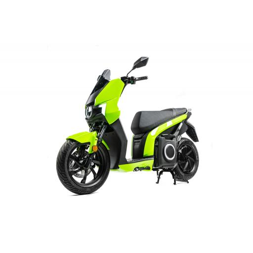 Silence S01 Electric Motorcycle Green Front Left.jpg